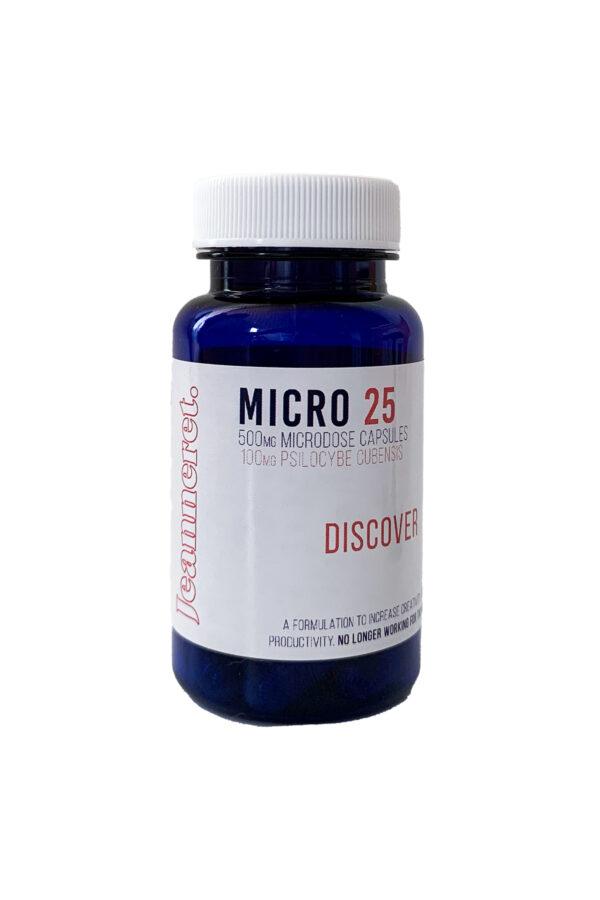 Jeanneret Botanical Micro 25 (Discover) Microdose Mushroom Capsules