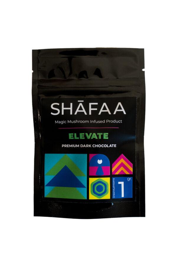 Shafaa Magic Mushroom Dark Chocolate